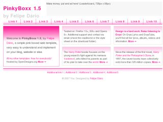 PinkyBoxx pink box
