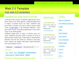 Free CSS Template 015