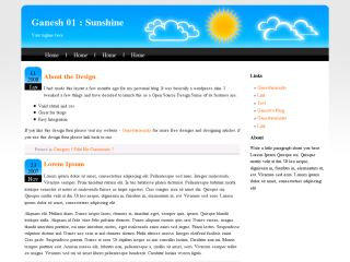 Ganesh 01 - Sunshine