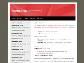 Headlines - Red