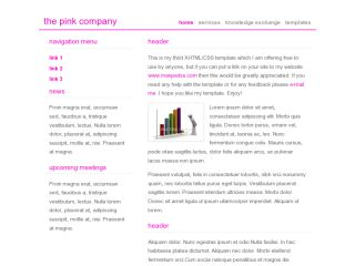 the pink company