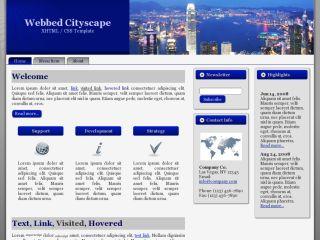 Webbed Cityscape