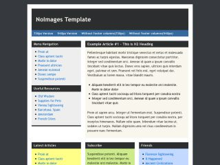 NoImages Template