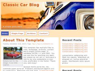 Classic Car Blog