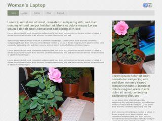 Woman's Laptop