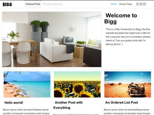 Bigg HTML
