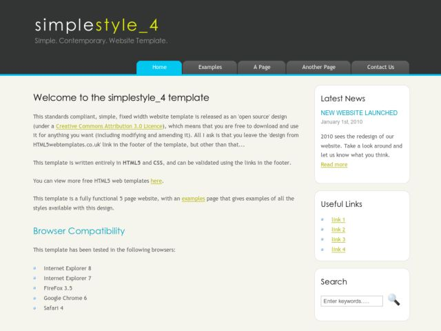 Simple Style 4